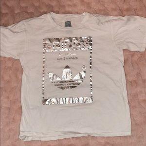 A adidas short sleeve shirt